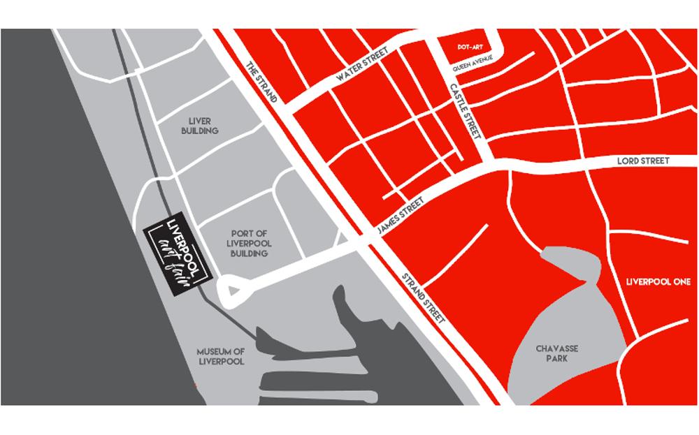 Liverpool Art Fair Map